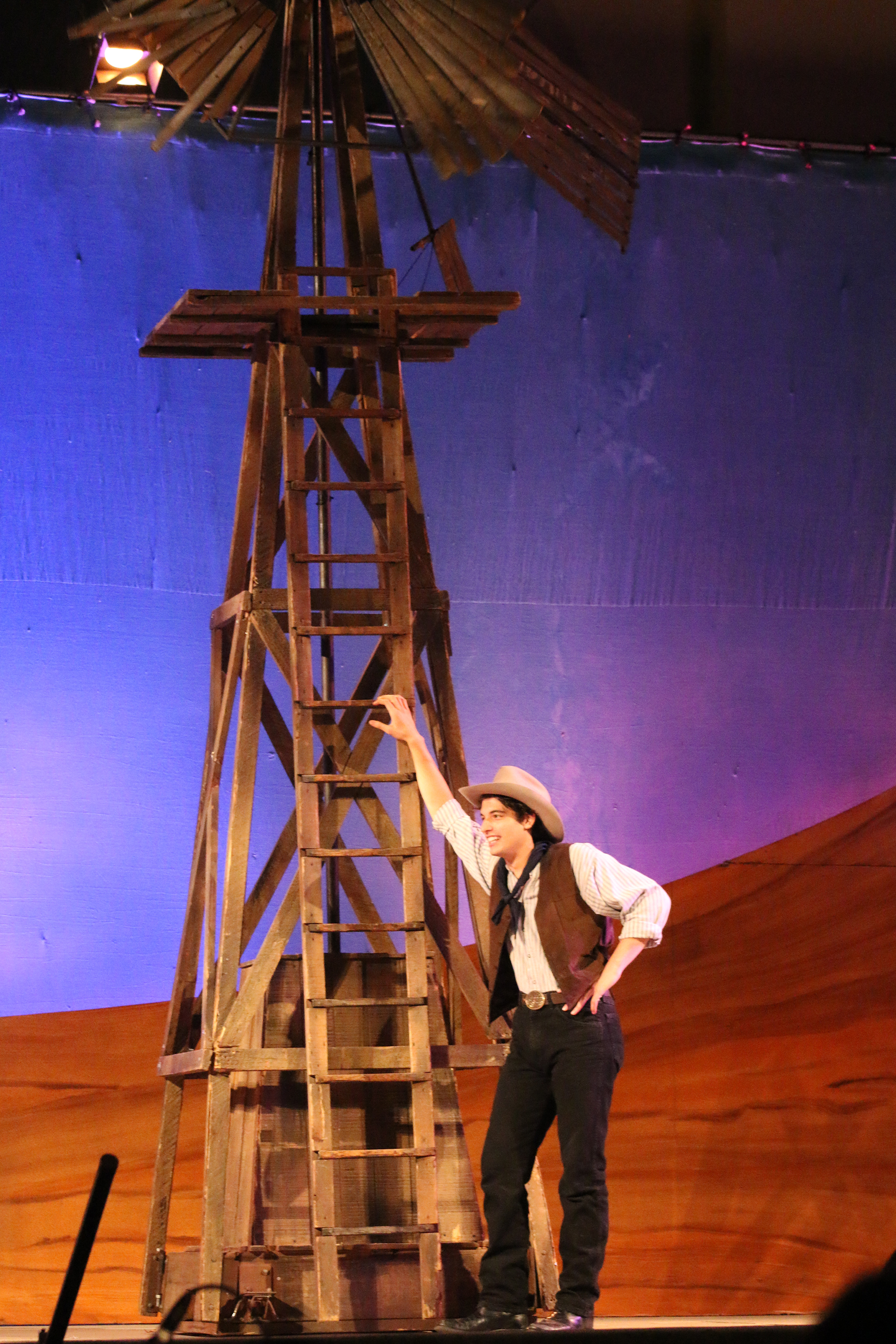 Oklahoma theater production